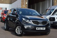 USED 2012 02 KIA SPORTAGE 1.6 1 5d 133 BHP A 2 Owner Kia Sportage with only 42000 Miles! 6 Service stamps in the book the last one at 36626 miles in may 2018.Prior to collection we will also complete a comprehensive pre delivery inspection, service and MOT this car.