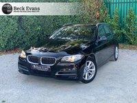 USED 2016 16 BMW 5 SERIES 2.0 520I SE TOURING 5d AUTO 181 BHP