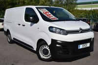 2017 CITROEN DISPATCH 2.0 XLWB 1400 ENTERPRISE BLUEHDI S/S 5d 121 BHP £10999.00