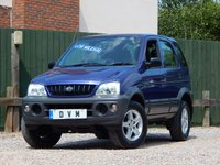 USED 2001 Y DAIHATSU TERIOS 1.3 EL 5d 85 BHP LONG MOT, LOW MILEAGE