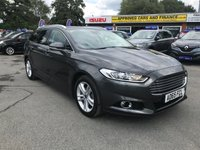 2015 FORD MONDEO 2.0 TITANIUM TDCI 5 DOOR AUTO 177 BHP ESTATE IN METALLIC GREY IN LOVELY CONDITION (ULEZ COMPLIANT) £11999.00