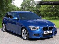 2014 BMW 1 SERIES 2.0 118D M SPORT 5d 141 BHP £11495.00