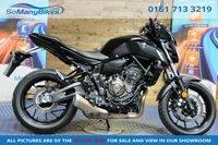 2018 YAMAHA MT-07 MT-07 ABS 700 - 1 owner £5495.00