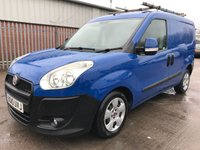 USED 2010 10 FIAT DOBLO 1.3 JTD MULTIJET S.X MODEL 90 BHP **NO VAT**