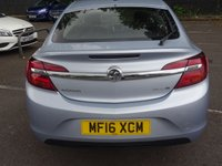 USED 2016 16 VAUXHALL INSIGNIA 1.6 DESIGN CDTI ECOFLEX S/S 5d 134 BHP LOW MILEAGE WITH CRUISE CONTROL