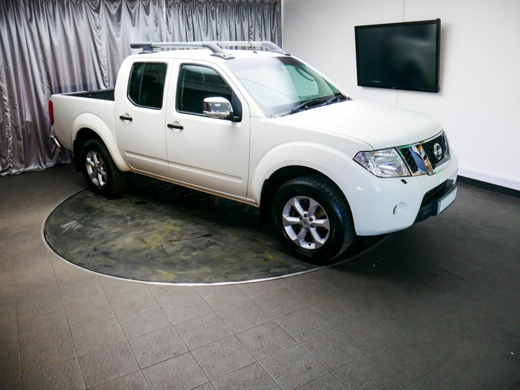 USED 2012 12 NISSAN NAVARA 2.5 DCI TEKNA 4X4 SHR DCB 1d 188 BHP £0 DEPOSIT FINANCE AVAILABLE, AIR CONDITIONING, AUTOMATIC HEADLIGHTS, CLIMATE CONTROL, CRUISE CONTROL, FULL LEATHER UPHOLSTERY, HEATED SEATS, SATELLITE NAVIGATION, STEERING WHEEL CONTROLS, TOUCH SCREEN HEAD UNIT, TRIP COMPUTER