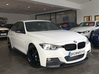 USED 2017 17 BMW 3 SERIES 2.0 320D M SPORT 4d AUTO 188 BHP BM PERFORMANCE STYLING+PRO NAV
