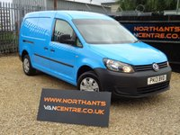 USED 2013 13 VOLKSWAGEN CADDY MAXI 1.6 C20 TDI 6d 101 BHP (EX BRITISH GAS)