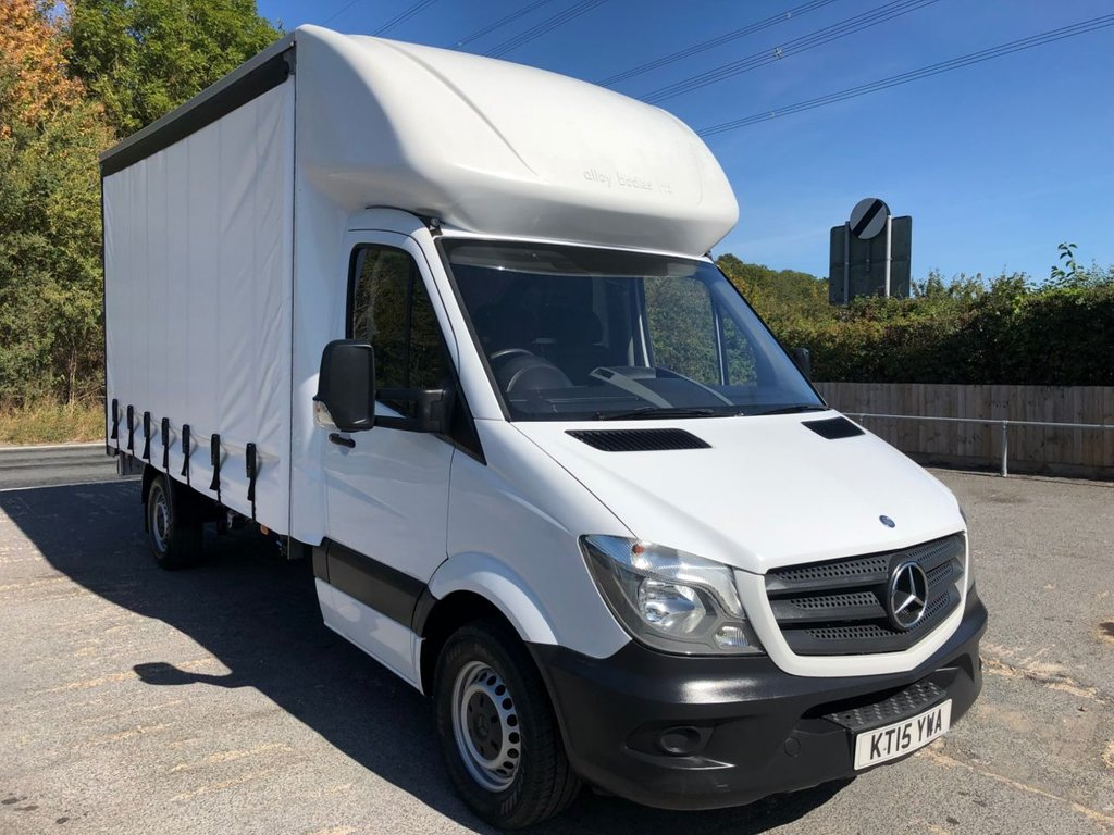 USED 2015 15 MERCEDES-BENZ SPRINTER 2.1CDI 313 CURTAINSIDE (130 BHP)