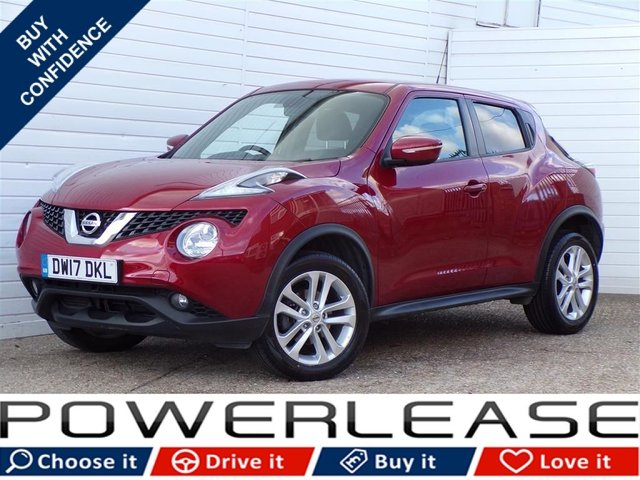 USED 2017 17 NISSAN JUKE 1.6 N-CONNECTA XTRONIC 5d AUTO 117 BHP SAT NAV LEATHER FSH CRUISE CON