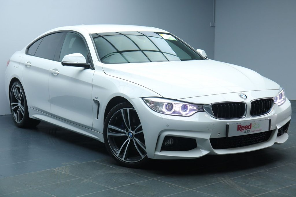 """USED 2016 66 BMW 4 SERIES 2.0 420I M SPORT GRAN COUPE 4d AUTO 181 BHP 19""""ALLOYS+LEATHER+NAV+PARKING SENSORS+GEAR SHIFT PADDLES+CRUISE CONTROL"""