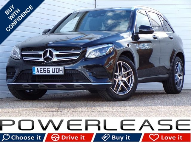 USED 2016 66 MERCEDES-BENZ GLC-CLASS 2.1 GLC 220 D 4MATIC AMG LINE PREMIUM 5d AUTO 168 BHP HEATED LEATHER SAT NAV RCAMERA PANROOF