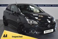 USED 2015 15 VAUXHALL CORSA 1.4 LIMITED EDITION 3d 90 BHP (SPECIAL EDITION MODEL)