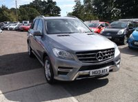 2013 MERCEDES-BENZ M CLASS 2.1 ML250 BLUETEC AMG SPORT 5d AUTO 204 BHP £16995.00