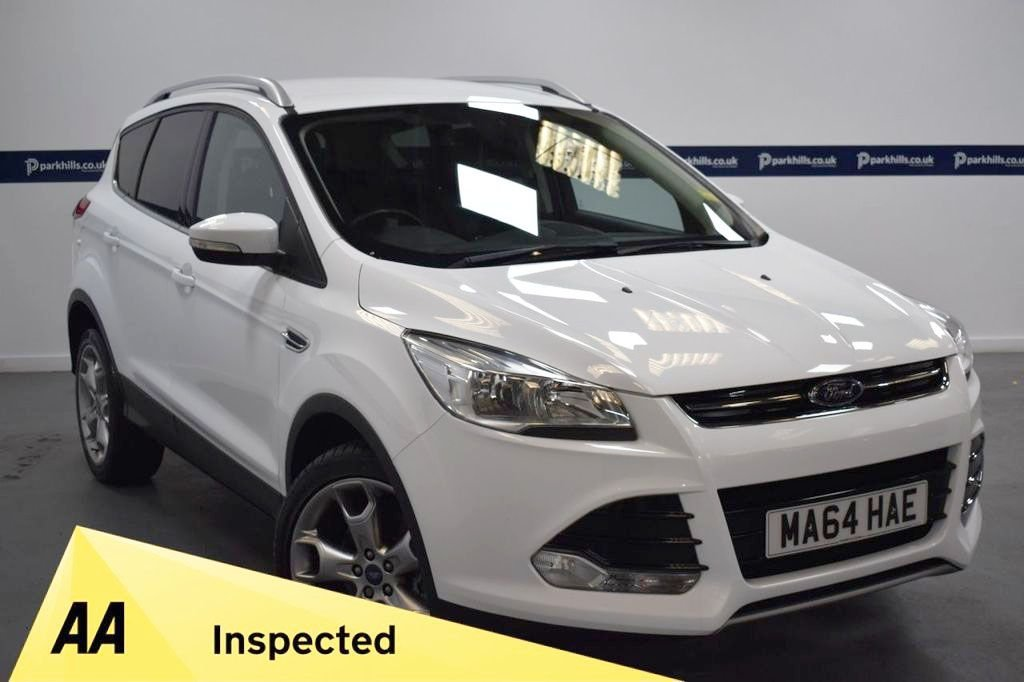 USED 2014 64 FORD KUGA 2.0 TITANIUM TDCI 2WD 5d 140 BHP (19 INCH UPGRADED ALLOYS)