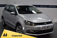 USED 2014 64 VOLKSWAGEN POLO 1.0 SE 3d 60 BHP (BLUETOOTH PHONE AND MEDIA)