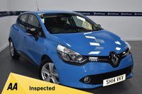 USED 2014 14 RENAULT CLIO 0.9 DYNAMIQUE MEDIANAV ENERGY TCE S/S 5d 90 BHP (BLUETOOTH PHONE AND MEDIA)