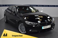 USED 2015 65 BMW 4 SERIES 2.0 418D LUXURY GRAN COUPE 4d AUTO 150 BHP (ONE OWNER  - FULL SERVICE HISTORY)