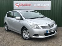 USED 2011 61 TOYOTA VERSO 1.6 T2 VALVEMATIC 5d 130 BHP