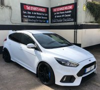 USED 2017 17 FORD FOCUS RS 2.3 5DR 345 BHP, WARRANTY UNTIL APRIL 2022, ONLY 5,500 MILES. NOW SOLD - SIMILAR VEHICLES WANTED