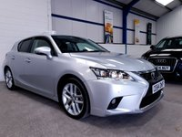 USED 2014 64 LEXUS CT 1.8 200H ADVANCE 5d AUTO 134 BHP