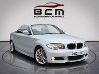 2012 BMW 1 SERIES 2.0 120D M SPORT 2d AUTO 175 BHP £7985.00