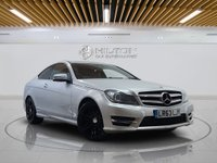 USED 2013 63 MERCEDES-BENZ C CLASS 2.1 C220 CDI BLUEEFFICIENCY AMG SPORT PLUS 2d 168 BHP