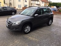 USED 2011 60 VOLKSWAGEN TIGUAN 2.0 S TDI BLUEMOTION TECHNOLOGY 5d 140 BHP