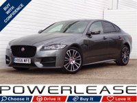 USED 2016 66 JAGUAR XF 2.0 R-SPORT 4d AUTO 177 BHP HUGE SPEC PANORAMIC ROOF FSH