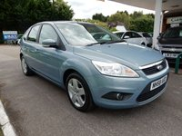 2009 FORD FOCUS 1.8 STYLE 5d 125 BHP £1250.00