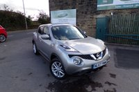 USED 2017 67 NISSAN JUKE 1.5 ACENTA DCI 5d 110 BHP One Owner Nissan Service History