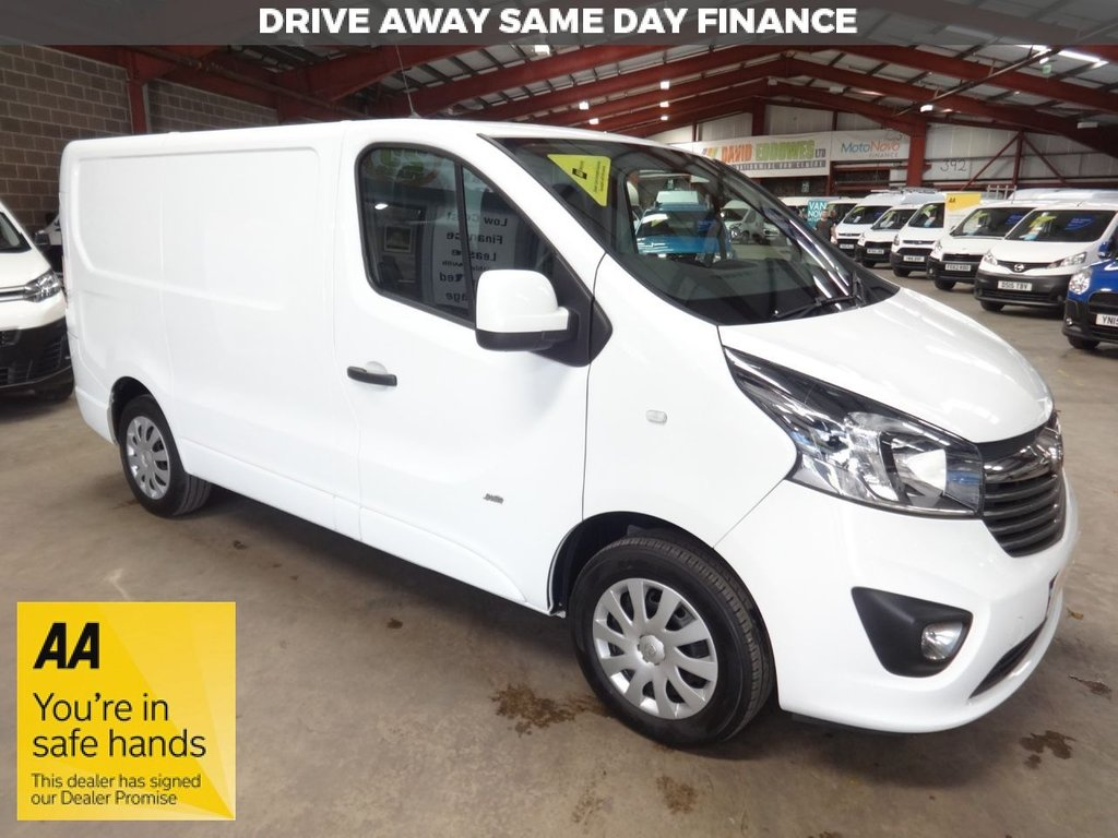 "USED 2015 65 VAUXHALL VIVARO 1.6 2700 L1H1 CDTI P/V SPORTIVE 118 BHP SWB VAN ""YOU'RE IN SAFE HANDS"" - AA DEALER PROMISE"