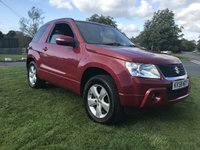 USED 2008 58 SUZUKI GRAND VITARA 2.4 SZ4  3 DOOR 85000 MILES FULL MOT & FRESH SERVICE