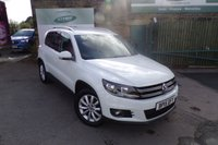 USED 2015 15 VOLKSWAGEN TIGUAN 2.0 MATCH TDI BLUEMOTION TECHNOLOGY 5d 148 BHP One Owner Full Service History With SAT NAV