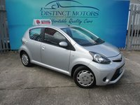 USED 2013 62 TOYOTA AYGO 1.0 VVT-I ICE MM 5d AUTO 68 BHP