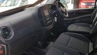 USED 2018 18 MERCEDES-BENZ VITO BLUETEC TOURER PRO 136 BHP 9 SEAT EURO 6 AUTO ( TOURER VITO AUTOMATIC 18 REG PANTHER BLACK )