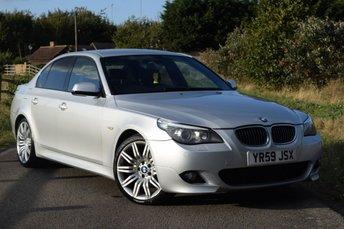 2009 BMW 5 SERIES 3.0 530D M SPORT BUSINESS EDITION 4d AUTO 232 BHP £3750.00
