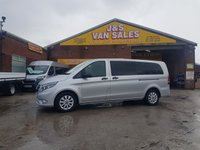 USED 2019 19 MERCEDES-BENZ VITO 9 SEATER BLUETEC TOURER X-LONG AUTOMATIC  ( LOTS MORE BUSES 5 TO 17 SEATS ALL MODELS )