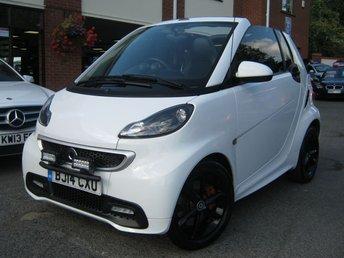 2014 SMART FORTWO CABRIO 1.0 GRANDSTYLE EDITION 2d AUTO 84 BHP £5995.00
