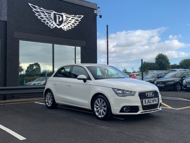 USED 2012 62 AUDI A1 1.4 SPORTBACK TFSI SPORT 5d 122 BHP AA WARRANTY,  MOT AND SERVICE INCLUDED