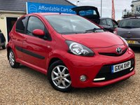 2014 TOYOTA AYGO 1.0 VVT-I MODE AUTOMATIC 5 DOOR £SOLD