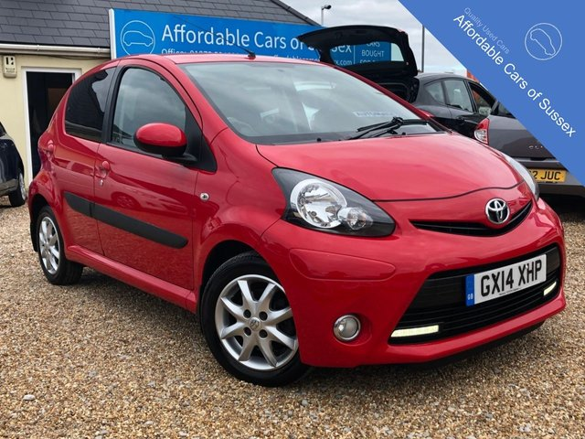 2014 14 TOYOTA AYGO 1.0 VVT-I MODE AUTOMATIC 5 DOOR
