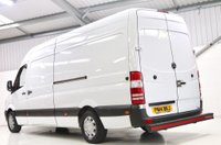 USED 2014 14 MERCEDES-BENZ SPRINTER 2.1 CDI 313 Extra High Roof Panel Van 4dr (LWB) 1 OWNER DRIVER FROM NEW