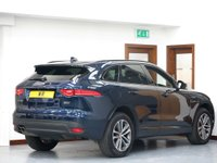 USED 2018 57 JAGUAR F-PACE 2.0d R-Sport Black Edition Auto AWD (s/s) 5dr SAT NAV + REV CAMERA + DAB