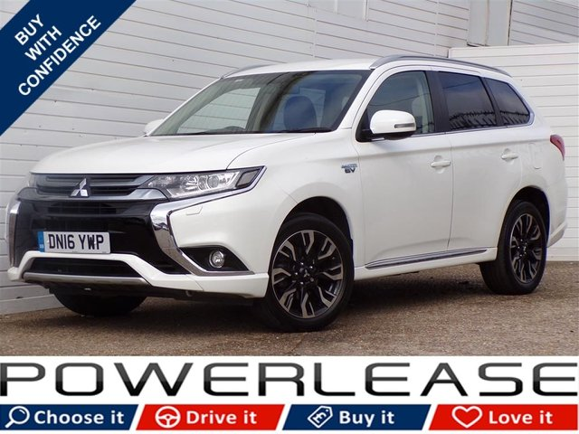 USED 2016 16 MITSUBISHI OUTLANDER 2.0 PHEV GX 3H PLUS 5d AUTO 161 BHP HEATED SEATS BLUETOOTH FSH
