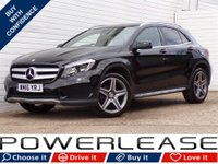 USED 2016 16 MERCEDES-BENZ GLA-CLASS 2.1 GLA 200 D AMG LINE 5d AUTO 134 BHP REAR CAMERA LEATHER 30POUNDTAX