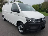 USED 2016 16 VOLKSWAGEN TRANSPORTER T28 STARTLINE 2.0 TDI BLUEMOTION  102 BHP Direct From Lease Company With Only 24000 Miles & Full Service History! Very Clean Example Viewing Recommended!