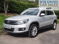 USED 2012 12 VOLKSWAGEN TIGUAN 2.0 SE TDI BLUEMOTION TECHNOLOGY 4MOTION 5d 138 BHP