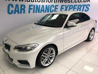 2015 BMW 2 SERIES 2.0 218D M SPORT 2d AUTO 148 BHP £15000.00