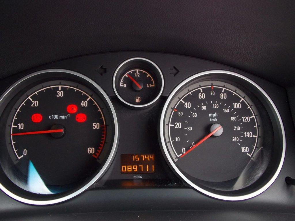 USED 2008 08 VAUXHALL ZAFIRA 1.9 ELITE CDTI 5d 148 BHP